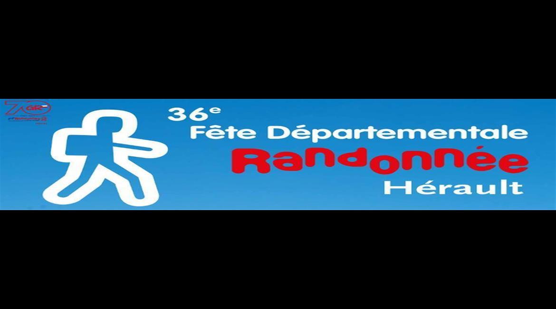 Fête Départementale de la Randonnée Pédestre de l'Hérault 2017
