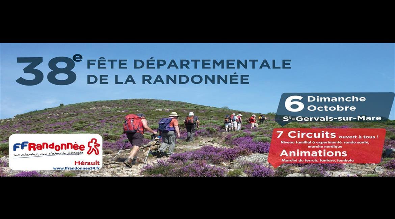 38 e Fête Départementale de la Randonnée Pédestre de l'Hérault