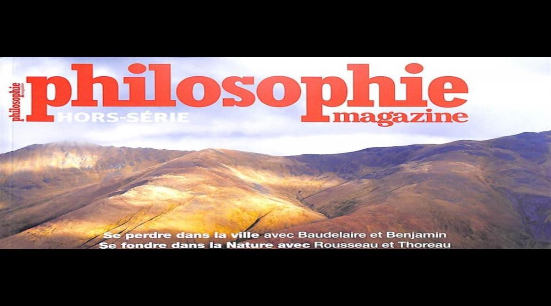 MEDIA : Philosophie magazine interroge les philosophes sur la marche