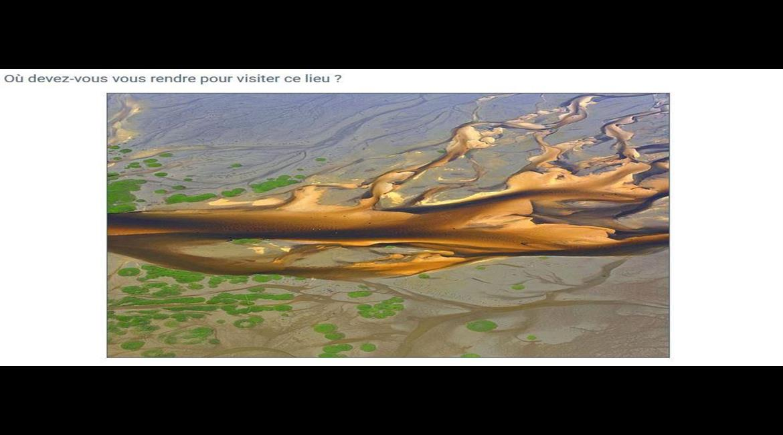 QUIZZ : Reconnaître des paysages vus du ciel