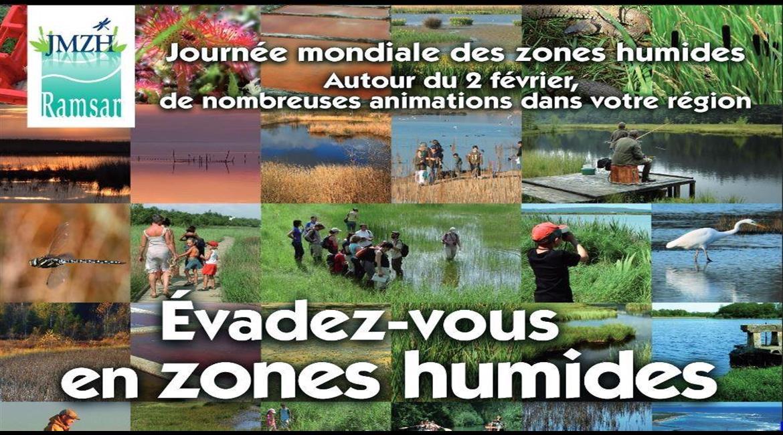Journée mondiale des  zones humides, le 2 février