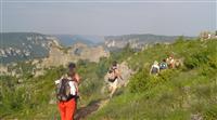 La randonnée, acteur de développement durable dans l'Aveyron